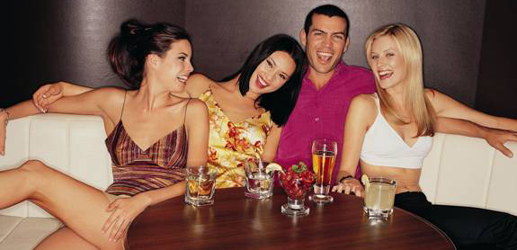How to be social at a bar